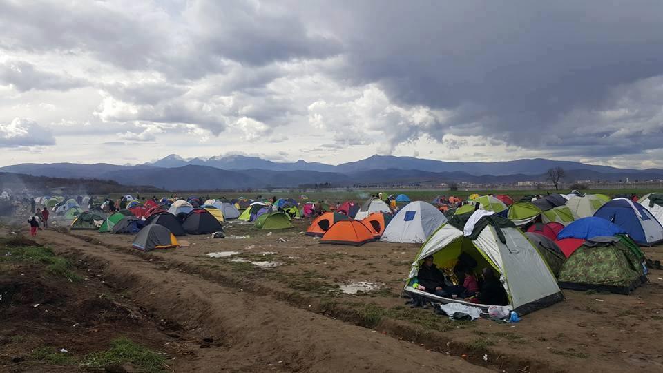 Camp Idomeni 1