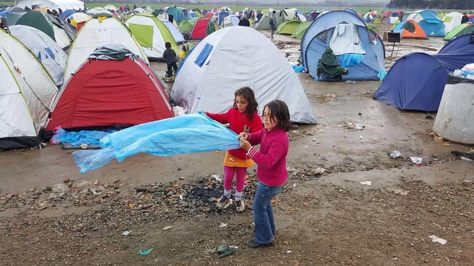 Camp Idomeni 3