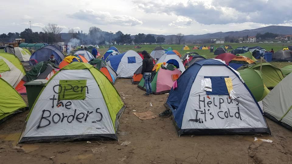 Camp Idomeni 4